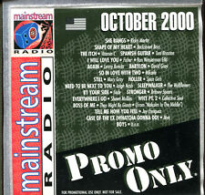 PROMO ONLY - MAINSTREAM RADIO - OCTOBER 2000 - PROMO CD COMPILATION