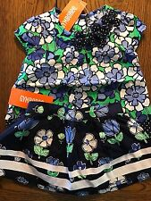 NWT GYMBOREE Girls SPRING PREP 3 Piece Floral Patchwork Top & Skirt 6-12 Months