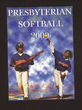 2000 Presbyterian Blue Hose Softball Schedule--Sports Academy