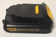 New 20 В DEWALT DCB201 20 В Max литий-ионный аккумулятор 1.5Ah пакет обновления через DCB207