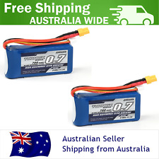 2-Pack TURNIGY 700mAh 3S 30C 11.1v XT30 LIPO Battery RC Plane Drone Helicopter