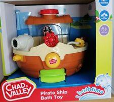 PIRATE SHIP BATH TOY KIDS CHAD VALLEY  HAND EYE FINE MOTOR SKILLS 12+ MONTHS