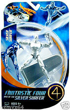 "Fantastic Four 4 Rise of the Silver Surfer Movie Silver Surfer 5"" Figure!"