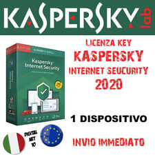 KASPERSKY INTERNET SECURITY 2020 🔑 1 Dispositivo [PC - Mac] 1 Anno - 🇮🇹 🇪🇺