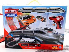 RENNBAHN AUTORENNBAHN + ZUG 680 CM Kontroller R/C Kinderrennbahnen Top Racer