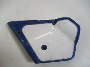1. Honda XL 500 S PD 01 Bj.80 Verkleidung Sitzbank Seite links Seitendeckel