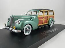 1941 Packard 120 Woody Wagon Deluxe in 1:24 Scale Diecast Collector Club Car