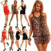 New Top Women Clubbing Mini Dress Ladies Party Top SIZE 6 8 10 12 Girls Blouse