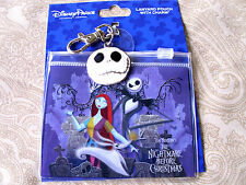 Disney * JACK & SALLY - NBC * Pin Trading Lanyard Clip Fast Pass Pouch & Charm