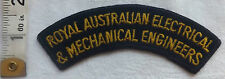 Military Royal Australian Electrical & Mechanical Shoulder Title Badge (366)