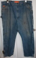 Wrangler FR Blue Jeans 46x34 Riggs Workwear ARC Rating 23.7 ATPV