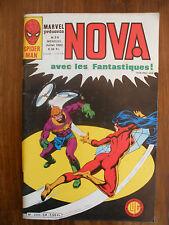 Semic MARVEL DC Comics FRANCE Spiderman BD LUG Super Heros NOVA n°54 Juil 1982