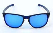 ca54ea7c299f4 Oakley Sliver R OO9342-09 Matte Translucnt Blue Sapphire Iridium Sunglasses  57mm