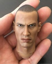 Custom 1/6 Scale Bald Man Head Sculpt for 12 Inch Figures Body  Hot Toys