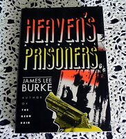 Heaven's Prisoners by James Lee Burke SIGNED 2X Stated 1st Edition 1st Printing