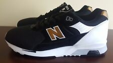 "NEW BALANCE RARE MADE IN ENGLAND BLACK GOLD M1991KG 1500 991 ""NEW IN BOX"" SZ 11"