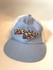 Pac-Man Atari Mesh Trucker Hat Snapback Cap Baseball Baby Blue Vintage kid Size