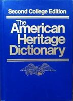 American Heritage Dictionary of the English Language : New College Edition