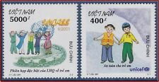 VIETNAM N°1988/1989** Enfants,  2001 Vietnam 3061-3062 Children MNH