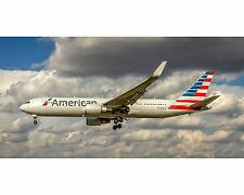 American Airlines Boeing 767 10x20 Photo (APPM10002)