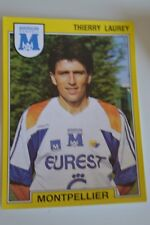 PANINI VIGNETTE STICKERS FOOTBALL FOOT 92 N°151 MONTPELLIER THIERRY LAUREY