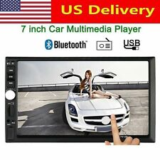 """Car Stereo 7"""" inch Touch screen Double 2 Din Radio Mp3 Bluetooth Player F"""