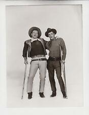 JOHN WAYNE / ROBERT MITCHUM (Pressefoto '66) - in EL DORADO