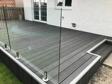 More details for grey wood effect composite decking easy to install! 3.6m lengths! free delivery!