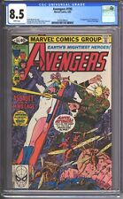 Avengers #195 CGC 8.5 (1980) - 1st Cameo appearance of TASKMASTER - White pages