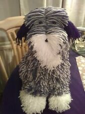 More details for adorable handmade aa tucker dog... new.. made from wool blend arron(15