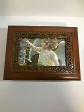New*Music Jewelry Box Wooden Picture Frame