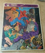 VINTAGE 1979 Amazing Spider-man Frame-Tray Puzzle Marvel Comics