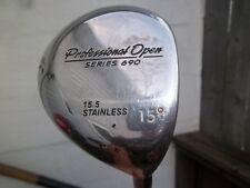 Professional Series 690 15.5 Stainless 15 Degree Driver Dynamic Gold Shaft USA