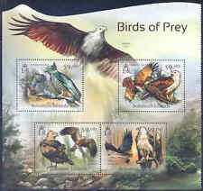 SOLOMON ISLANDS 2012 BIRDS OF PREY  SHEET MINT NH