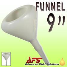 """9"""" FUNNEL FLEXIBLE SPOUT HEAVY DUTY OIL DIESEL CHEMICAL"""