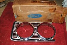 69 NOS FORD TORINO & RANCHERO RH HEADLAMP BEZEL FORD PART # C90Z 13064 A SHOW QU