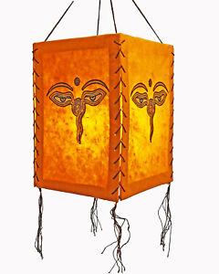 Lampshade, Buddha Eye, Lokta Paper , Paper Light Paper Lamp Lantern Hanging