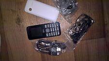 BRAND NEW VIRGIN VM595 MOBILE PHONE (UNLOCKED) BLACK BASIC CHEAP RADIO CAMERA