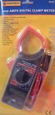 1000A amp digital clamp meter voltage tester electrical multimeter car 12v 1000V