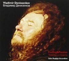 Feeling & Passion - Solo Russian Accordion, Vladimir Denissenkov CD   0885016821