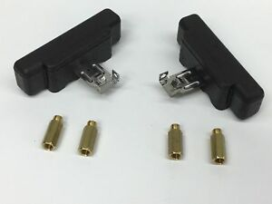 Holley QFT CCS 116-10 Notched Float with Main Jet Extensions 4150 4500 2 Pack