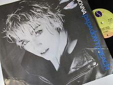 "Madonna-Papa Don't Preach-W8636T-Vinyl-12""-Single-Record-1980s"