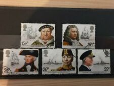 Great Britain 1982 Maritime Heritage. 5 stamp set used