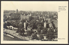 London. Tower of London, General View from the South. Ministry of Works Postcard