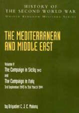 Paesi del Mediterraneo e del Medio Oriente: V. 5: CAMPAGNA IN SICILIA 1943 e la campagna.