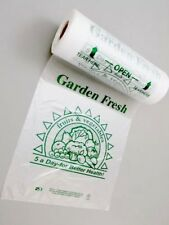 HDPE Plastic Fruit Vegetable Food Produce Roll Bags 12in x17in 750 Bags/Roll