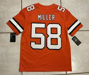 NWT NIKE Denver Broncos Von Miller SEWN NFL Limited Jersey Men's Medium