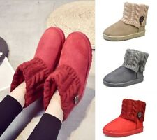 Woman Ankle Boots Casual Slip On Sexy Comfortable Flat Winter Shoes Keep Warm