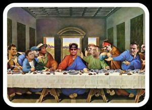 MAGNET Patrick Mahomes 12 Apostles Last Supper - Kansas City Chiefs NFL Fridge