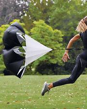 PRO Running Speed Chute Training Resistance Parachute DRILL SPRINT FITNESS *NEW*